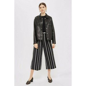 Topshop Pants & Jumpsuits - Topshop Culotte Crop Wide Leg Pants High Rise